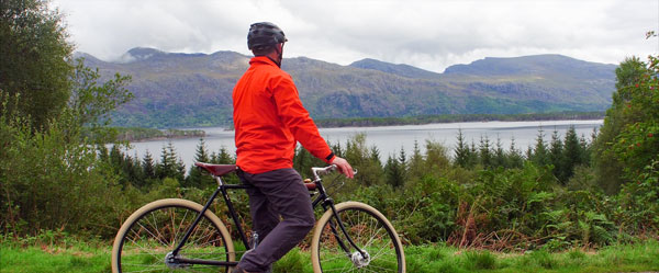 Ride the NC500 with Hilltrek's Greenspot Jacket