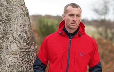 Hilltrek Talorc HV hybrid Ventile jacket