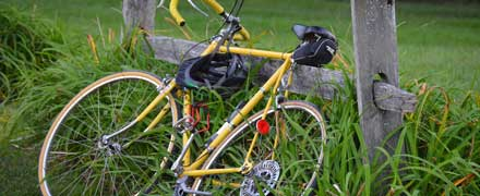 Hilltrek products for cyclists
