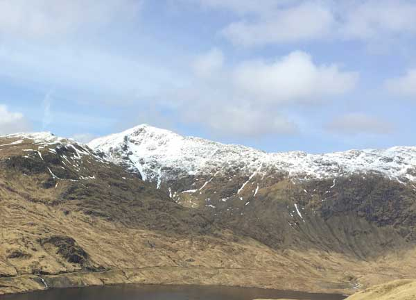 Ben Cruachan - click to see the new smock named after this mountain