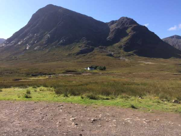 Buachaille Etive Mor from A82 - my start point