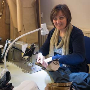 Heather: experienced dressmaker with hands-on tailoring expertise